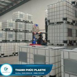 Sử dụng thùng nhựa 1000l cũ giúp tiết kiệm chi phí