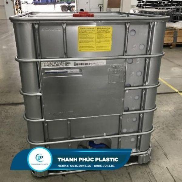 Thùng nhựa IBC Tank 1000l chống cháy nổ